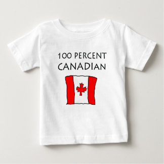 100% Canadian Baby T-Shirt