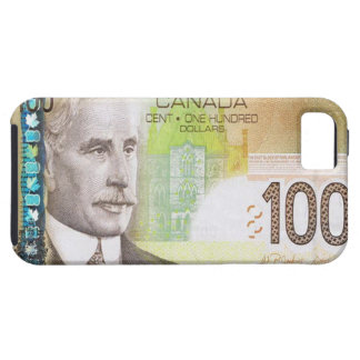 100 Canadian Dollar Bill iPhone 5 Case