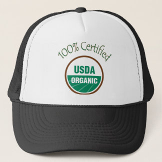 100% Certified USDA Organic Baseball Cap