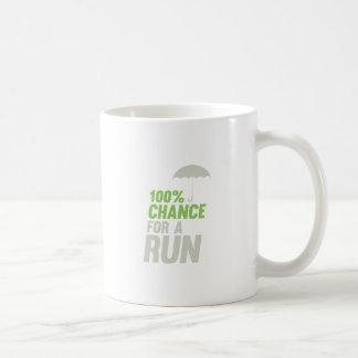 100% Chance of Run Coffee Mug