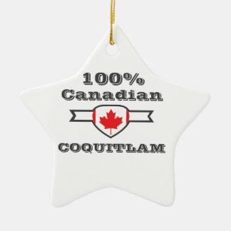 100% Coquitlam Ceramic Ornament