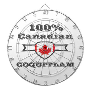 100% Coquitlam Dartboard With Darts