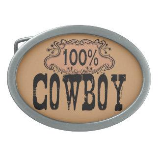 100% Cowboy Buckle Belt Buckles