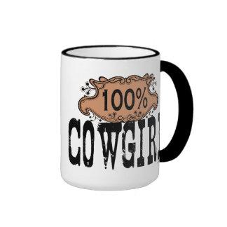 100% Cowgirl Mugs