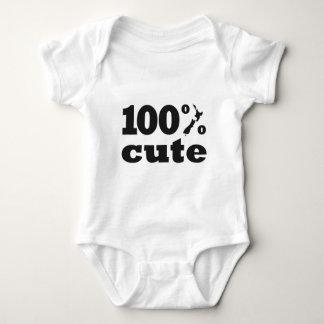 100% Cute Kiwi Baby Bodysuit