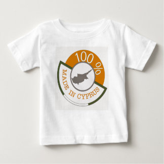100% Cypriot! Baby T-Shirt