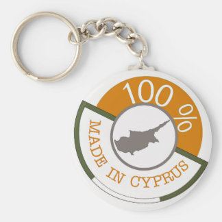 100% Cypriot! Keychain