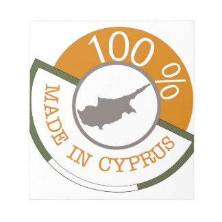100% Cypriot! Notepad