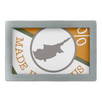 100% Cypriot! Rectangular Belt Buckles