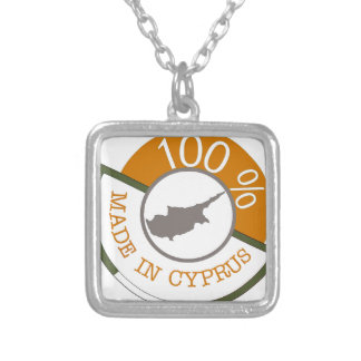 100% Cypriot! Silver Plated Necklace