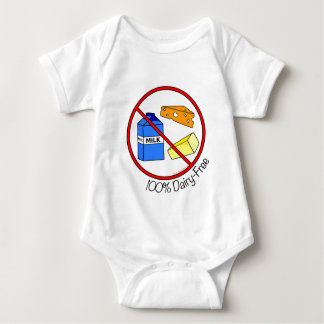 100% Dairy Free Baby Bodysuit