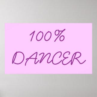 100% DANCER POSTER