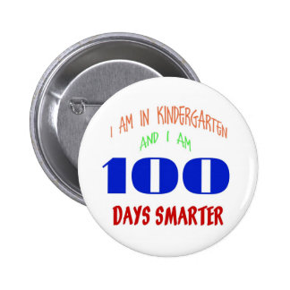 100 Day Button For Kindergarteners