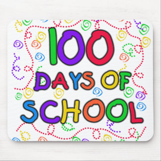 100 Days of School Confetti Mouse Mats