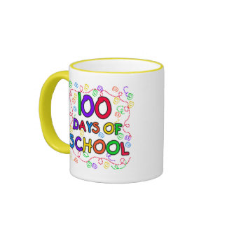 100 Days of School Confetti Coffee Mug