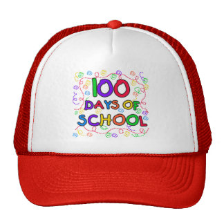 100 Days of School Confetti Tshirts and Gifts Hat