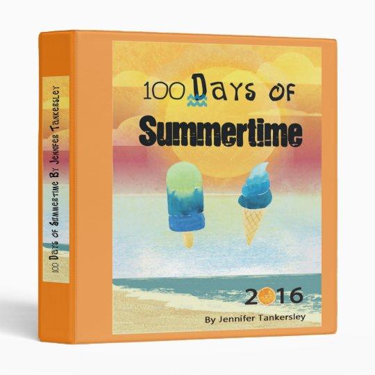 100 Days of Summertime 2016 Binders