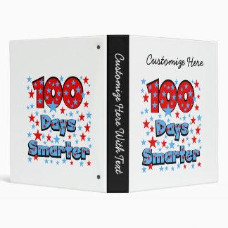100 Days Smarter Vinyl Binders