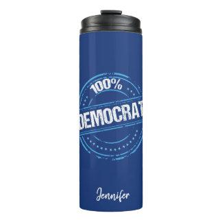 100% Democrat Thermal Tumbler