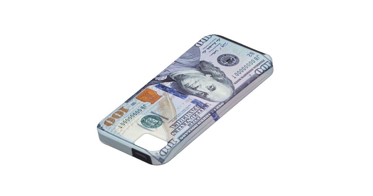 100 dollar bill iphone 5 case zazzle. Black Bedroom Furniture Sets. Home Design Ideas