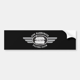 100 Dollar Hamburger - Flying Club Bumper Sticker