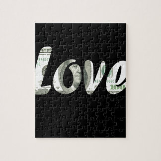 100 dollars love puzzle