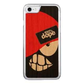 100% dope carved iPhone 8/7 case