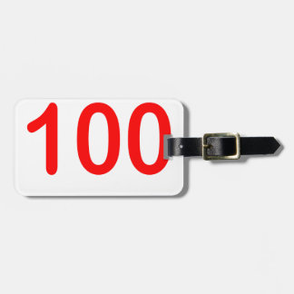 100 emoji shirt 100 keep it 100 emoji '.png luggage tag