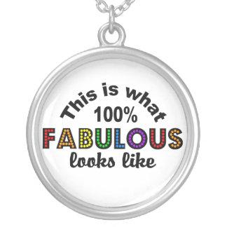 100% FABULOUS necklace