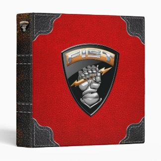 [100] Forward Observer (FIST) [Emblem] 3 Ring Binders