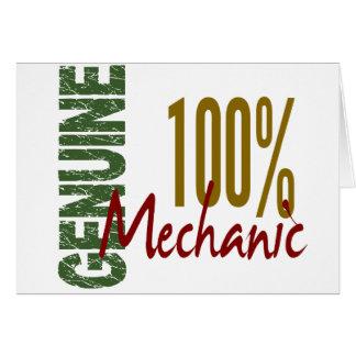 100 Genuine MECHANIC Card