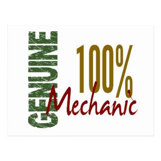 100% Genuine MECHANIC Post Card