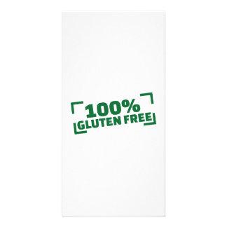 100% Gluten Free Photo Card