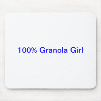 100 Granola Girl Mouse Pad