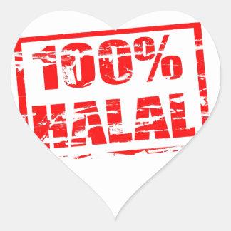 100% halal sticker