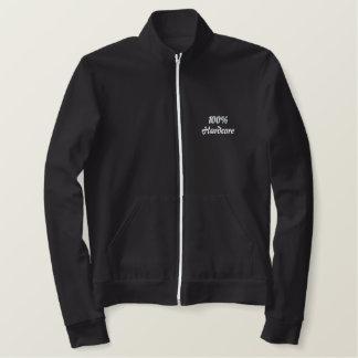 100%Hardcore Embroidered Jacket