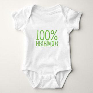 100% Herbivore Baby Bodysuit