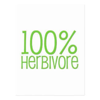 100% Herbivore Postcard