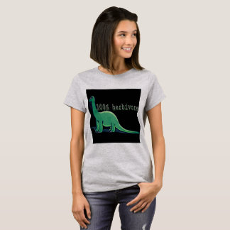 100% Herbivore vegan dinosaur top