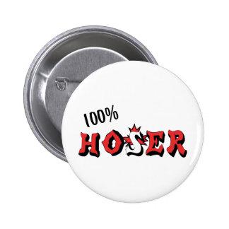 100%  Hoser 2 Inch Round Button
