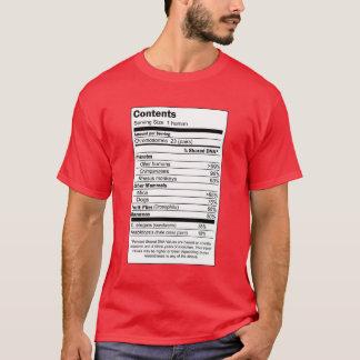 100% Human Content T-Shirt