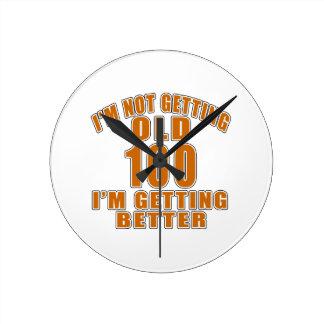100 I Am Getting Better Clock