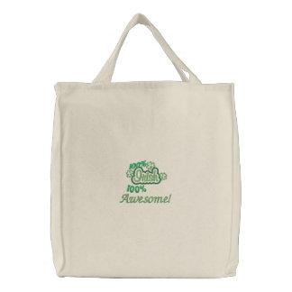100% Irish 100% Awesome Tote Bag