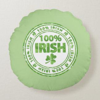 100% Irish Round Pillow