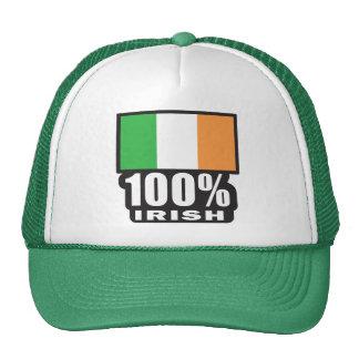 100% Irish/St. Patrick's Day Trucker Hat