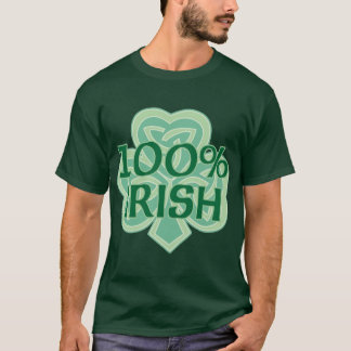 100% Irish Tshirt