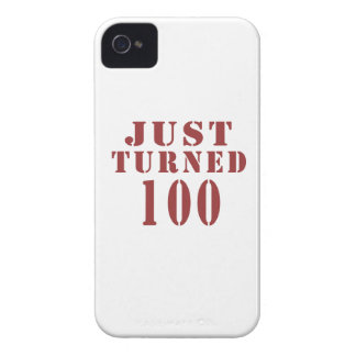 100 Just Turned Birthday iPhone 4 Cases