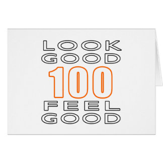 100 Look Good Feel Good Card
