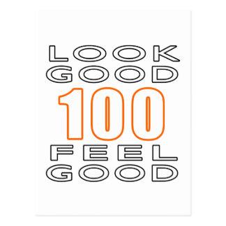 100 Look Good Feel Good Postcard