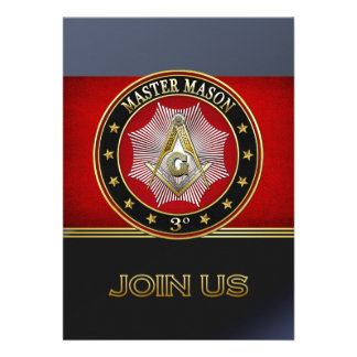 [100] Master Mason - 3rd Degree Square & Compasses Cards